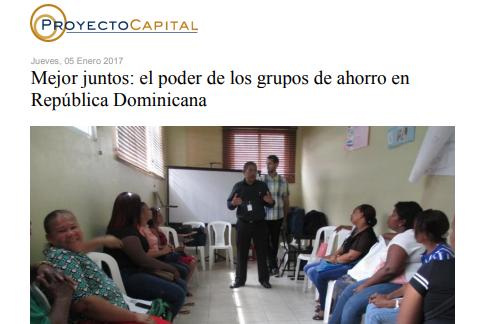 Mejor Juntos: El Poder de los Grupos de Ahorro en República Dominicana