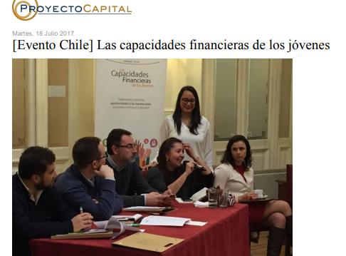 [Evento Chile] Las Capacidades Financieras de los Jóvenes