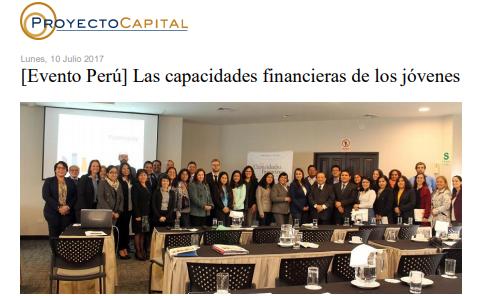 [Evento Perú] Las Capacidades Financieras de los Jóvenes